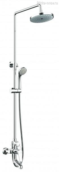 ECO F6111147C-A-RUS Bravat со смесителем для ванны, поворотный излив
